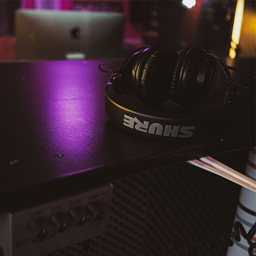 sub music studio shure