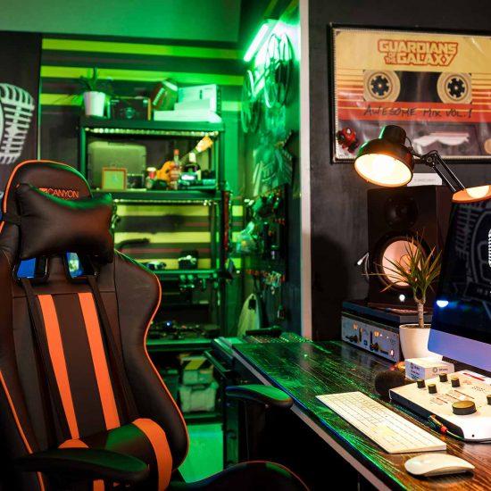 nahrávacie štúdio 8