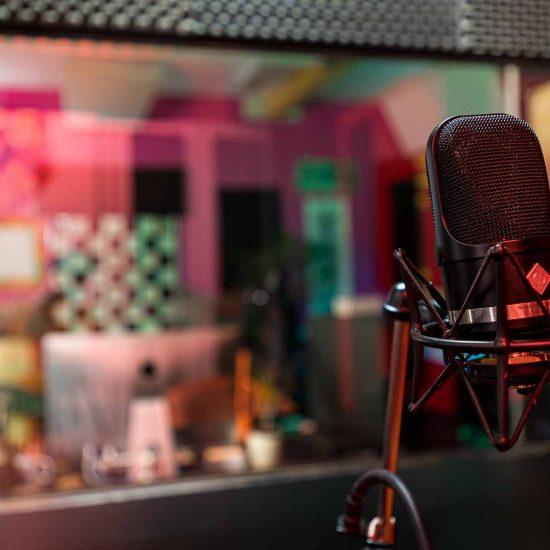 nahrávacie štúdio 7